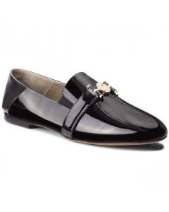 VERSACE COLLECTION BLACK LOAFRES
