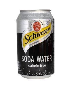 Schweppes Soda Can 33 cl (x6 cans)