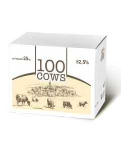 100 cows unsalted light (3 packs)