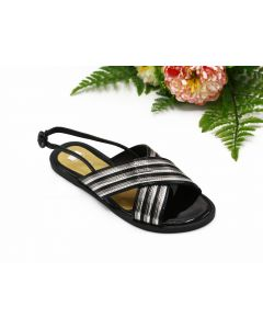 RB-WOMEN SHOES-KIELE-NERO/ARGENTO