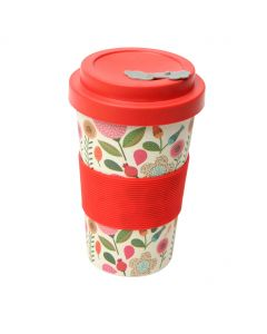 BamBroo Drinks Mug Patchwork 400ml
