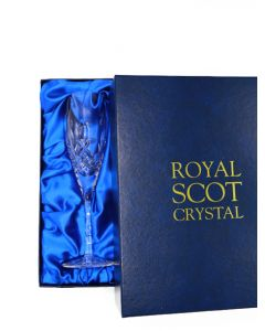 ROYAL SCOT PRES BOX. 2TALL FLUTE 218MM CHAMPS KINTYRE
