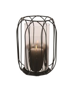 Caged Pillar Holder 26cm