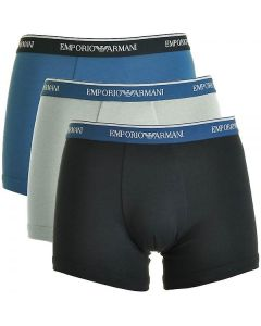 Emporio Armani Fashion Multipack Cotton Stretch 3-Pack Boxer Brief