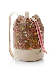 HUGO BOSS J10097' | Girls Stretch Cotton Bucket Bag