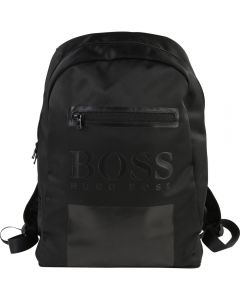 Hugo Boss Juniors Backpack (Black)