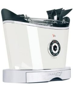BUGATTI VOLO TOASTER UK PLUG- WHITE