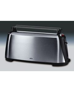 Braun Toaster HT 600 Color: metallic