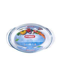 PYREX OVAL ROASTER 35*24CM 3LT