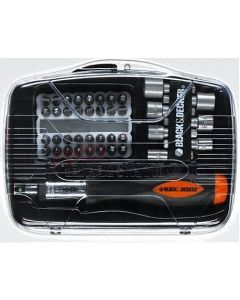 Black & Decker 40 Pieces Ratchet Screwdriver Set - A7062-XJ