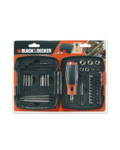 Black & Decker Set ratchet screwdriver 43 pcs A7175-XJ