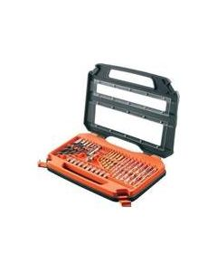 BLACK AND DECKER 31PC SCREWDRIVER BIT KIT IN STAND UP CASE A7122