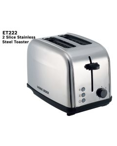 Black & Decker  2 Slice Toaster 1050w
