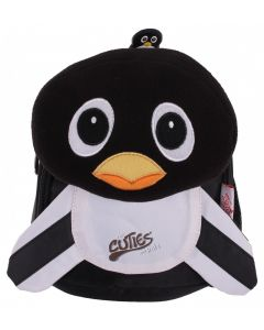 Cuties & Pals soft nursery backpack with detachable head pillow