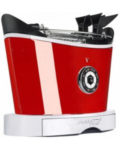 BUGATTI VOLO TOASTER UK PLUG- RED