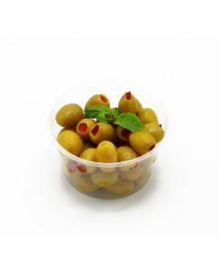 GREEN PEPPERED OLIVE 100g