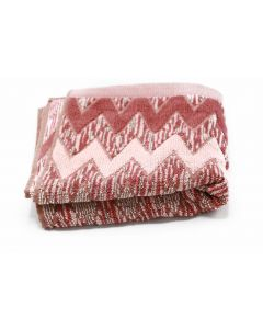 CANNON-TOWEL 50*100 TERRY 100%COT JAC DIAMOND /XA MODEL/ - ROSE