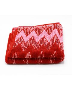 CANNON-TOWEL 50*100 TERRY 100%COT JAC DIAMOND /XA MODEL/ - BURGANDY