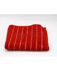 CANNON- TOWEL 70*140 TERRY 100%COT /19-STP MODEL/- BURGANDY