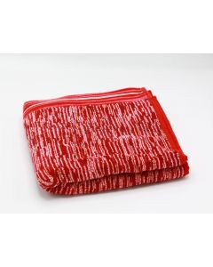 CANNON- TOWEL 50*100 TERRY 100%COTJAQ DIAMOND /WBR MODEL/ BURGANDY