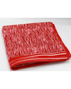 CANNON- TOWEL 70*140 TERRY 100%COTJAQ DIAMOND /WBR MODEL/ BURGANDY