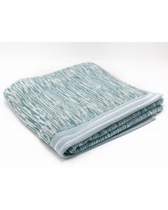 CANNON- TOWEL 70*140 TERRY 100%COTJAQ DIAMOND /WBR MODEL/ BLUE