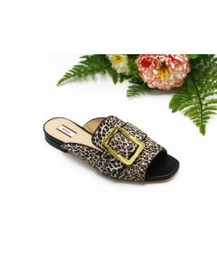 BALLY- JANAYA FLAT- LEO/53 HAIRCALF FOR WOMEN