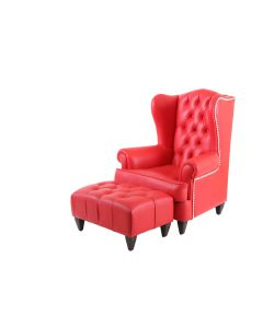 Bergere With Ottoman