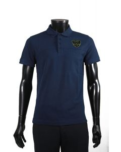 ARMANI- NAVY BLUE POLO SHIRT