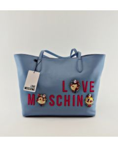 Love Moschino Shopper fantasy avio