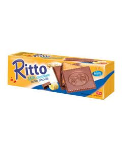 RITTO MILK CHOCOLATE BUTTER BISCUIT 125G