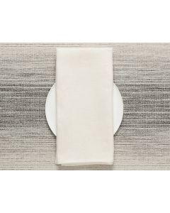 Chilewich Single Sided Napkins (Off White) 8pieces