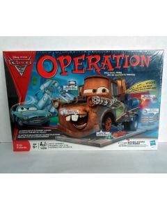 """Disney Pixar """"Cars 2 - Tow Mater"""" Edition Operation Game by Hasbro"""