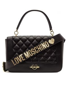 Love Moschino Borsa Quilted Nappa Pu Nero Black Shoulder Bag