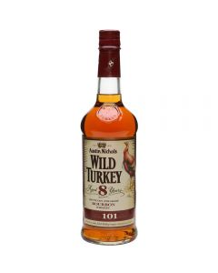 WILD TURKEY 101 BOURBON WHISKEY 75CL
