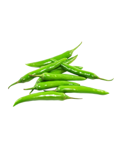 FRESH GREEN CHILLI PEPPER 1PACKET (≈ 250g)
