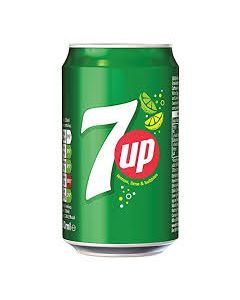 7 up can 33cl (6 cans)