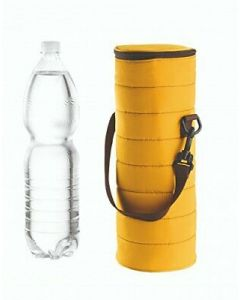 GUZZINI- UNIVERSAL THERMAL BOTTLE BAG HANDY- YELLOW