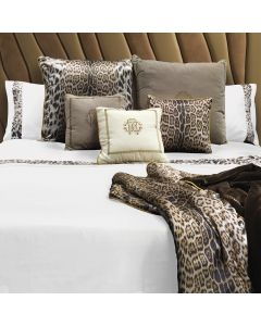 Roberto Cavalli Home Basic Duvet Set - Super King - White