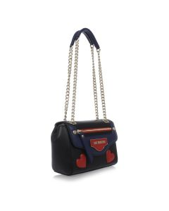 LOVE MOSCHINO Shoulder Bag With Gold chain
