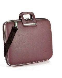 BOMBATA FRIENZE-CLASSIC BRIEFCASE 17 INCHES-brown