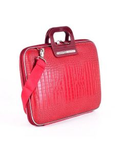 BOMBATA SIENA-COCCO BRIEFCASE 13 INCHES-RED