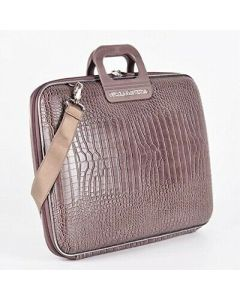 BOMBATA SIENA-COCCO BRIEFCASE 13 INCHES-TAUPE