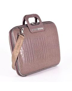 BOMBATA SIENA-COCCO BRIEFCASE 15 INCHES-TAUPE