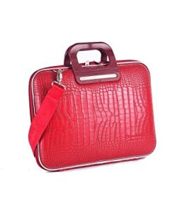 BOMBATA SORRENTO-COCCO BRIEFCASE 15 INCHES-SHINING RED
