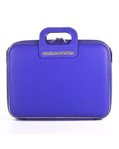 BOMBATA SORRENTO-COCCO BRIEFCASE 13 INCHES-SHINING violet