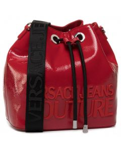 VERSACE COUTURE RED  HAND BAG