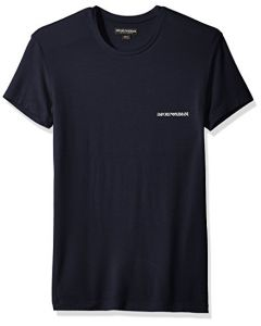 Emporio Armani Men's Stretch Modal Crew Neck