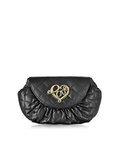 LOVE MOSCHINO WOMEN'S FAUX LEATHER CLUTCH