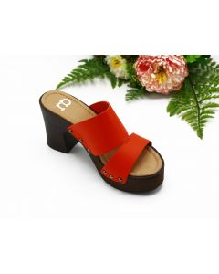RB-WOMEN SHOES-B-AMARANTH-ROSSO RED